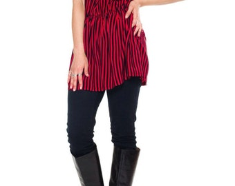 1980s Vintage Pleated Silk Dress  Size: S/M