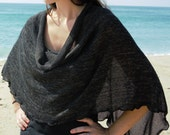 """Light weight """"Loden"""" Cowl Scarf Poncho"""