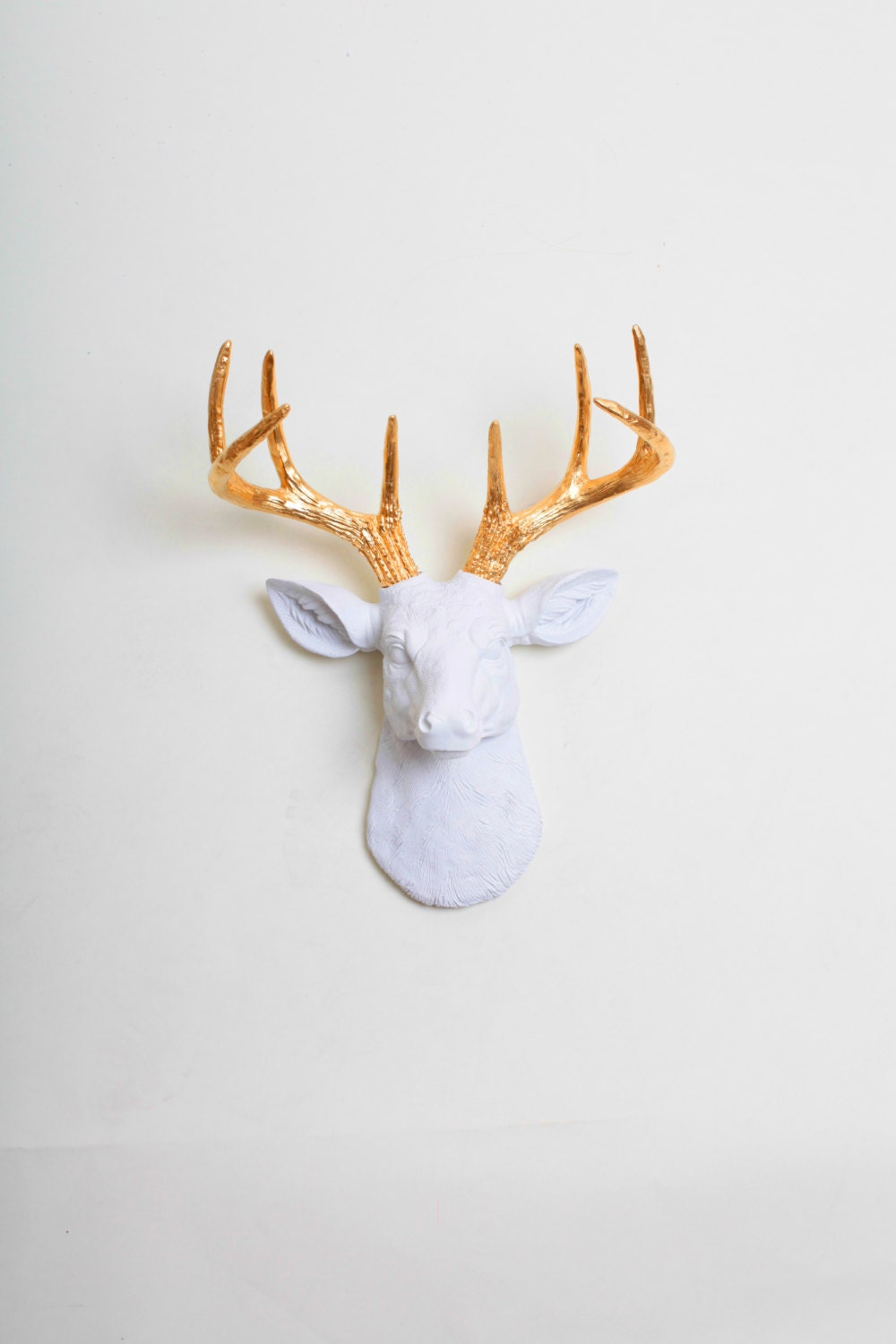 Mini Faux Taxidermy Deer The MINI Alfred by White Faux