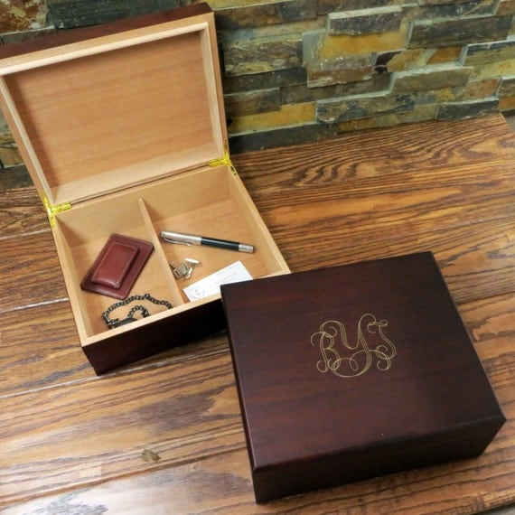 Personalized Mens Keepsake box- Mans Gift- Father's Gift