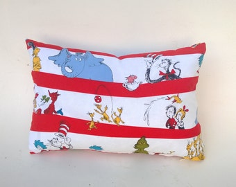 Dr. Seuss Pillow Cover, Multi-Color Characters