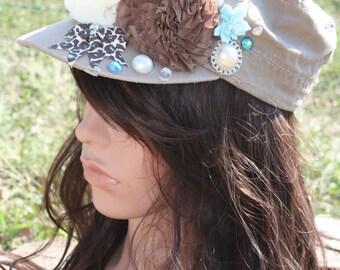 Blue Hues Fidel Hat