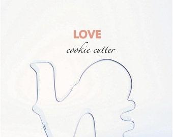 LOVE Cookie Cutter