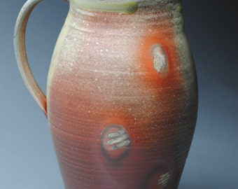 Clay Pitcher Wood Fired K58