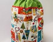 Christmas Present Sack - Large Santa Sack - Nativity Newborn King