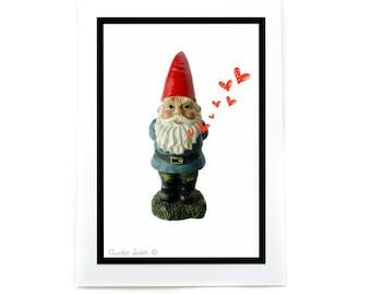 I Love You: Gnome Card