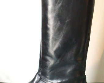 Cole Haan Made in Italy Equestrian Boots Size 8B