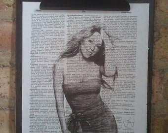 Mariah Carey Dictionary Print