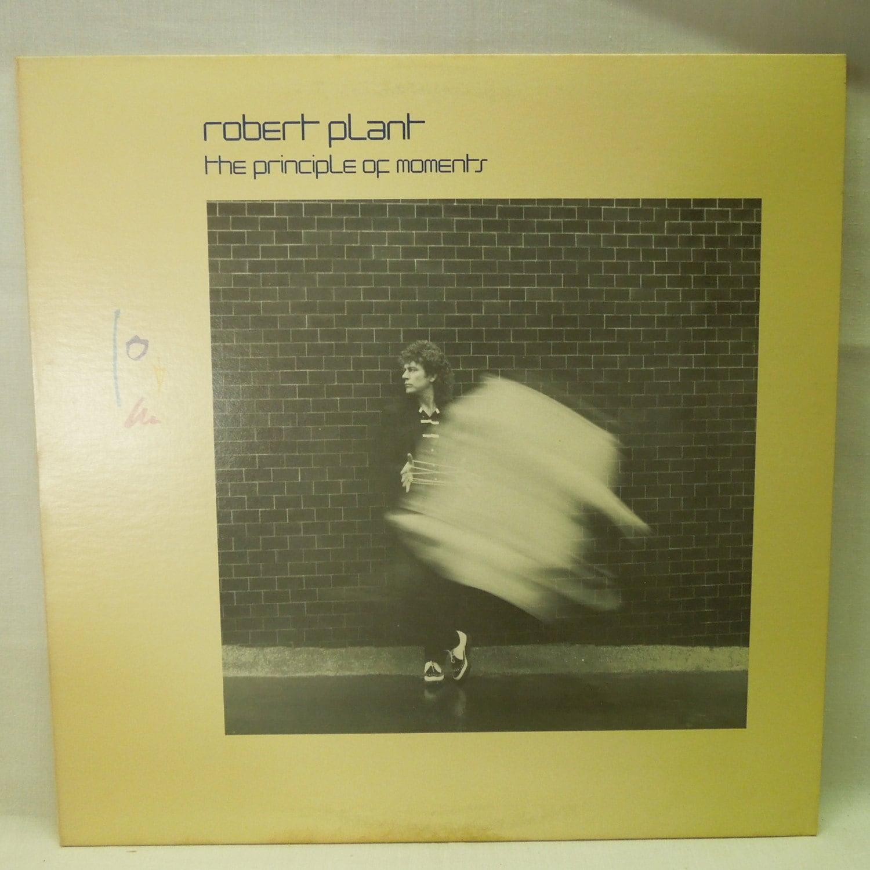 Robert Plant Record Principle Of Moments Vintage Vinyl Lp