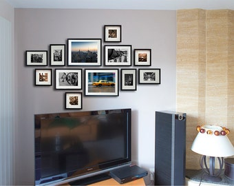 Black and white Photography/New York photography/New York gallery wall decor set/Brooklyn Bridge/NYC art/set of prints//large wall art