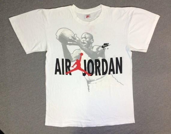 NIKE Air Jordan Shirt 90\'s Vintage/ RARE Hare by sweetVTGtshirt