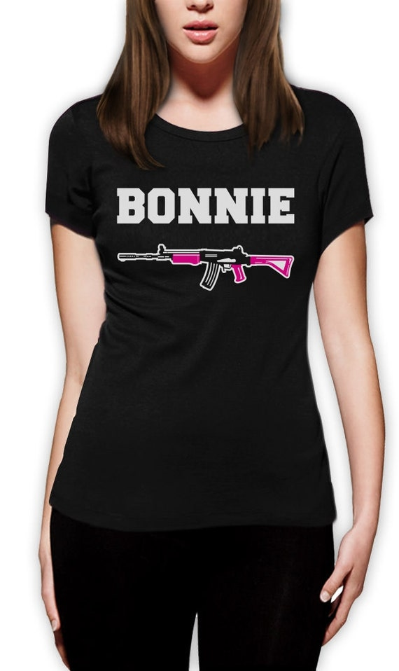 bonnie and clyde matching couples women 39 s t shirt. Black Bedroom Furniture Sets. Home Design Ideas