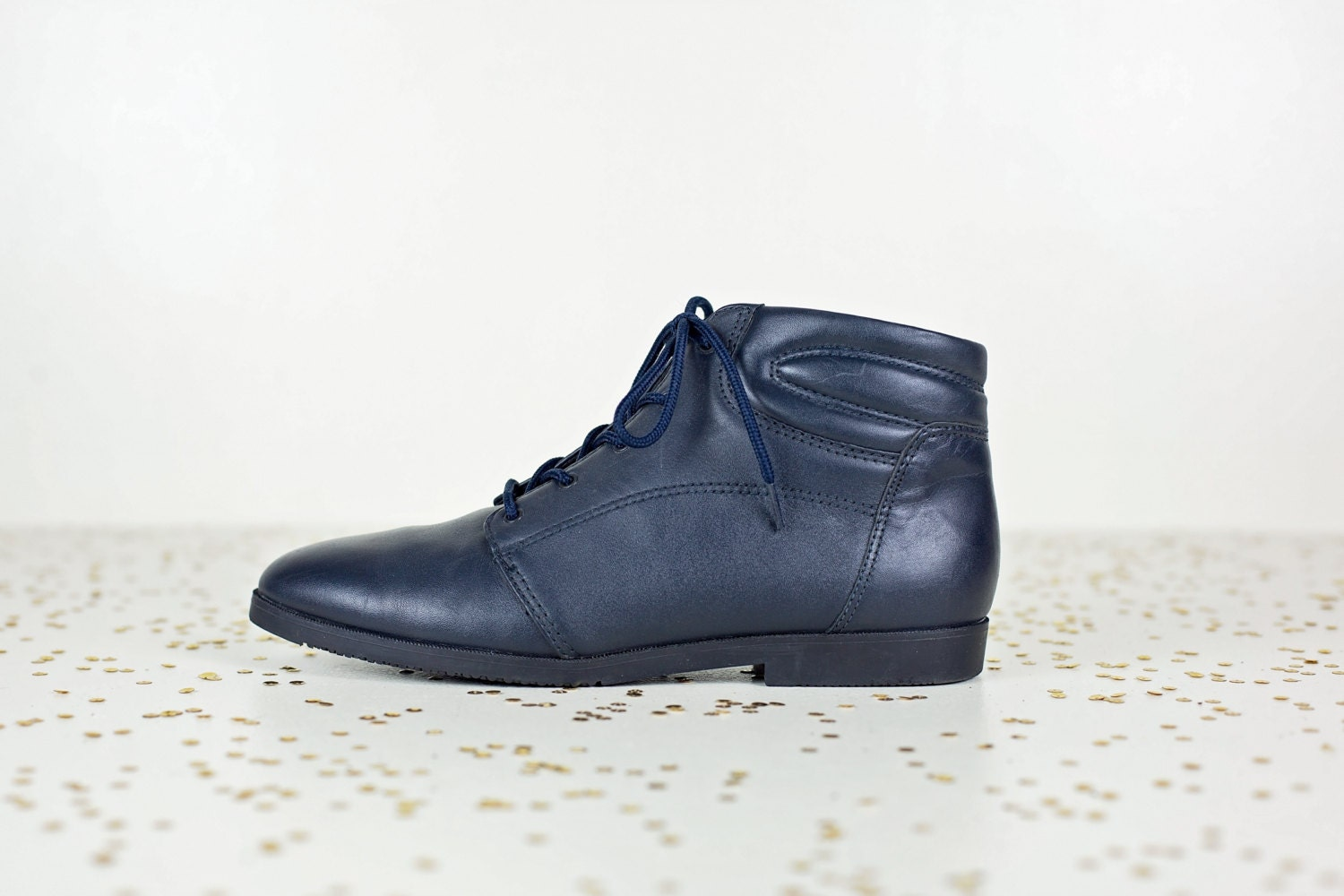 Excellent SHELLYS WOMENS NAVY LOVENIA SUEDE ANKLE BOOTS