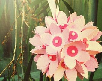 Pomander, Flower Ball, Paper Flowers, Wedding Decoration, Tree decor