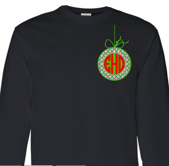Items Similar To Monogram Moroccan Christmas Ornament