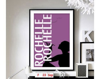 Seinfeld ('Rochelle Rochelle') Art Print