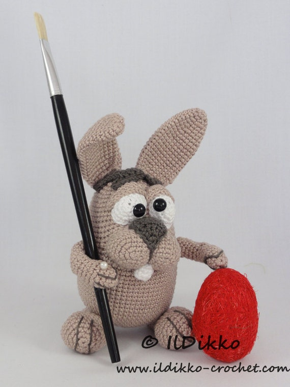 Amigurumi Easter Bunny Pattern : Amigurumi Crochet Pattern Easter Bunny