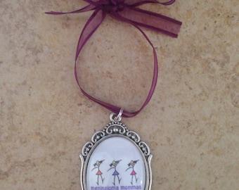 Meningioma Mommas Christmas Ornament