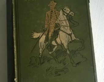 FINAL CLEARANCE With Wolfe in Canada by G.A Henty Antique Historical Fiction Decorative Hardcover Book French and Indian War History America