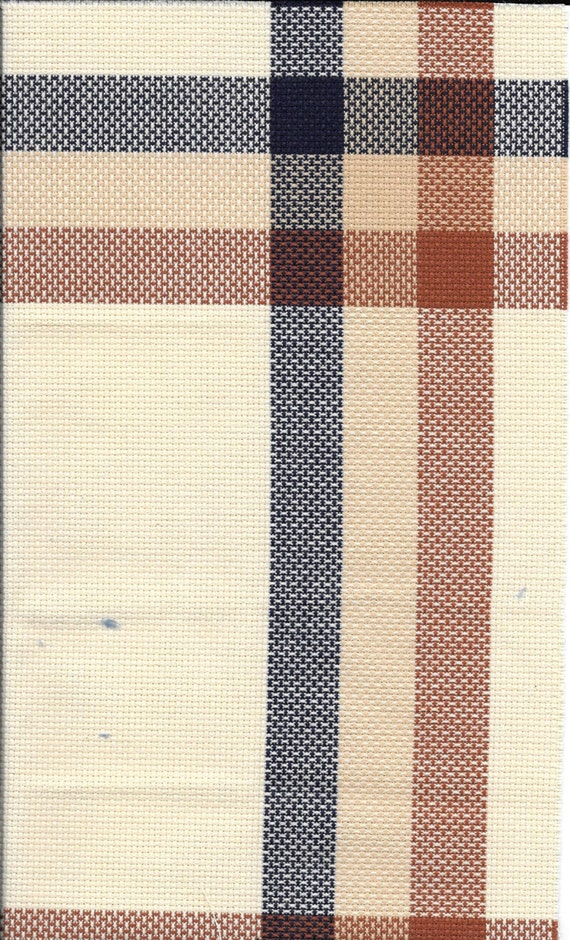 Corner block 14 count charles craft cotton counted cross for Charles craft cross stitch fabric