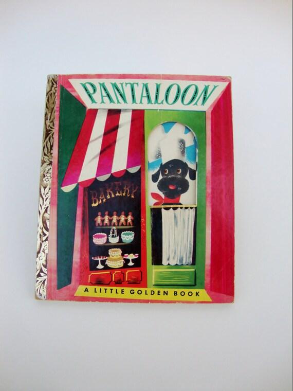 Pantaloon Vintage Children S Little Golden Book By Kathryn border=