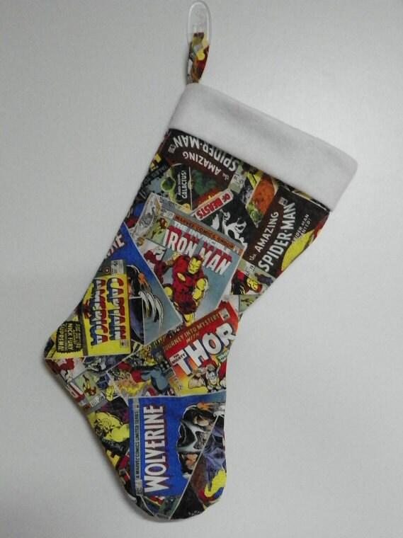 "New Marvel 20"" Captain Stocking Christmas Stocking | eBay |Marvel Stockings"