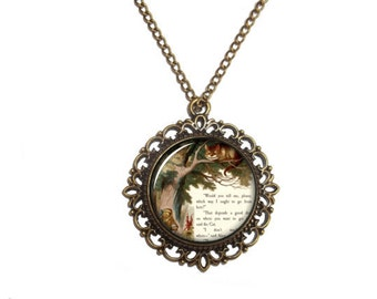 necklace in chershire cat mad