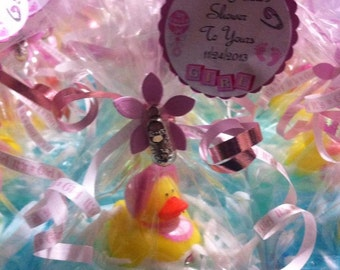 24 DUCK SOAP favors, Baby Shower favors, Birthday Soap Favors, Glycerin Soap Favors, Duck Soap Favors