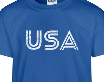YOUTH / Kids USA Shirt America Kids Shirt usa Soccer T Shirt Kids Size Shirt Youth Size Shirt