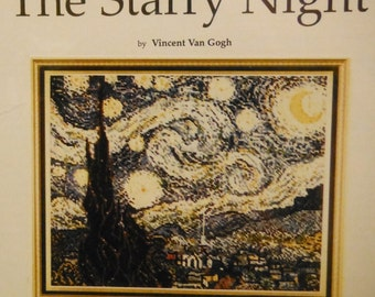 THE STARRY NIGHT Cross Stitch Pattern 46 by Fine Arts Heritage Vincent Van Gogh