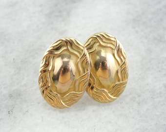 Antique Victorian Stud Earrings in Yellow Gold F31DE6-N