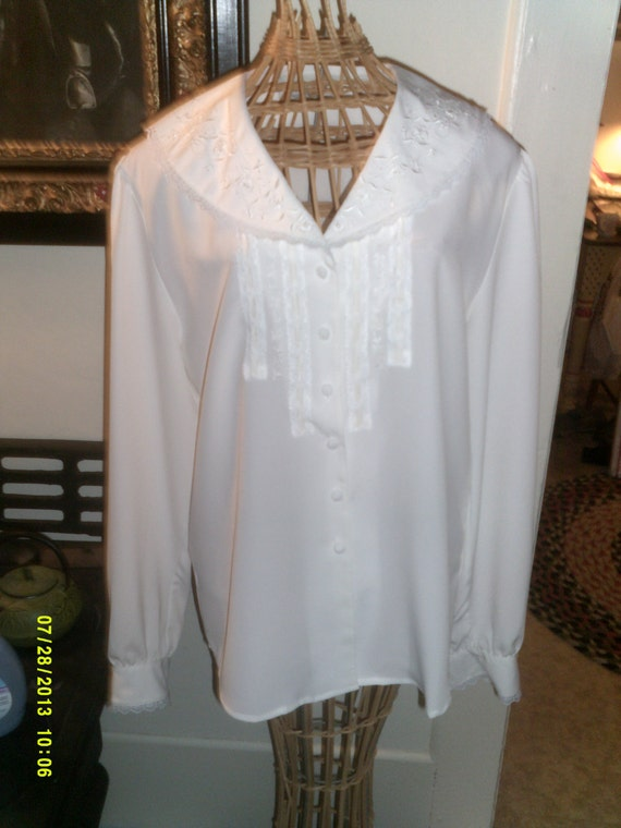 Womans Vintage Dress Blouses 117