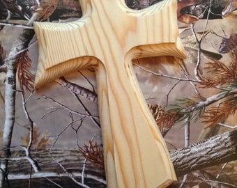 Unfinished Wood Cross