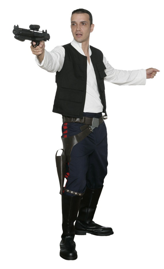 star wars han solo costume a new hope. Black Bedroom Furniture Sets. Home Design Ideas