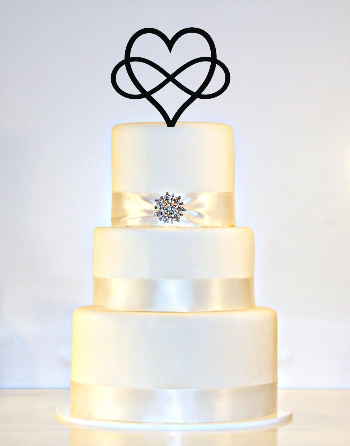 infinity wedding cake topper infinity open wedding cake topper by wyaledesigns on 16447