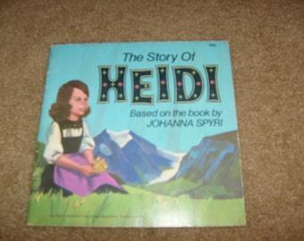vintage the story of HEIDI JOHANNA SPYRI sc used