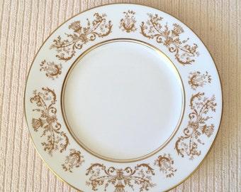 "Coalport Bone China Made in England - Allegro Pattern 8"" Starter Salad Dessert Plate"