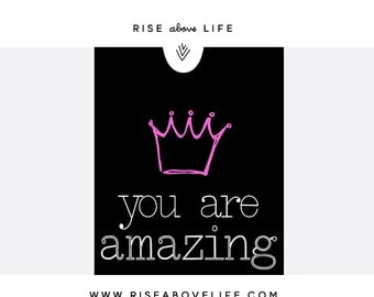 You Are Amazing Sign - digital download