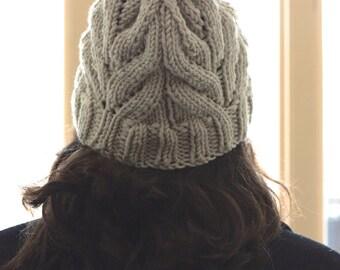 Bulky Knit Pom Pom Hat