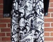 Vintage Long Sleeve Black...
