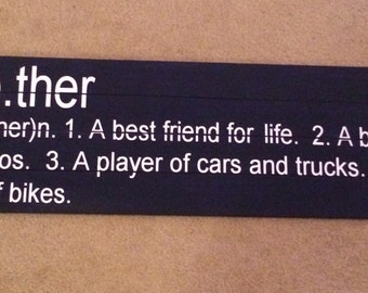 Sale***Brother Definition Sibling Wall Plaque Wall Hanging Sign