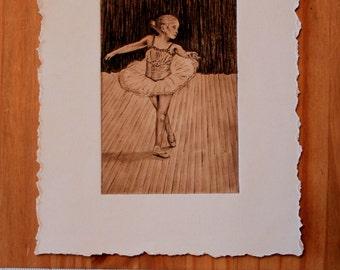 Dancer Art, Solar Printmaking, Dancer, Art