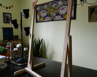 """24""""x36"""" Adjustable Twining Loom"""