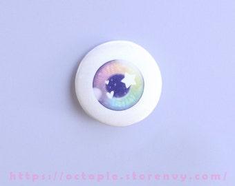 """Eyeball 1.5"""" Button / Pin / Badge"""