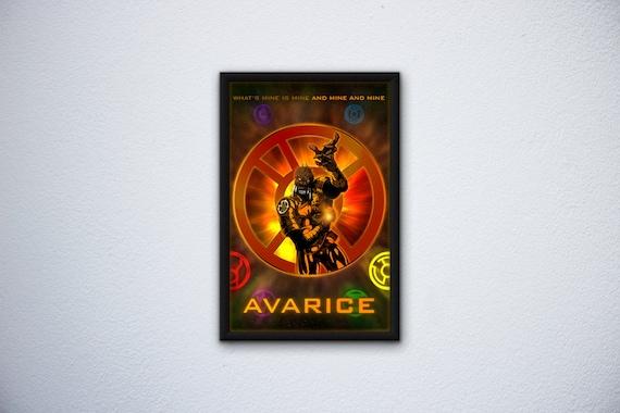 The Lantern Corps Avarice 11x17