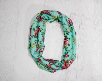 TODDLER  infinity scarf, toddler scarf, infinity scarf, spring scarf, scarf, toddler accessory, flower scarf
