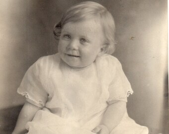 Antique Photo of Sweet Little Girl