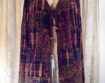 Plus Size Southwest Boho Women's Clothing Size XL Womens Vintage Paisley