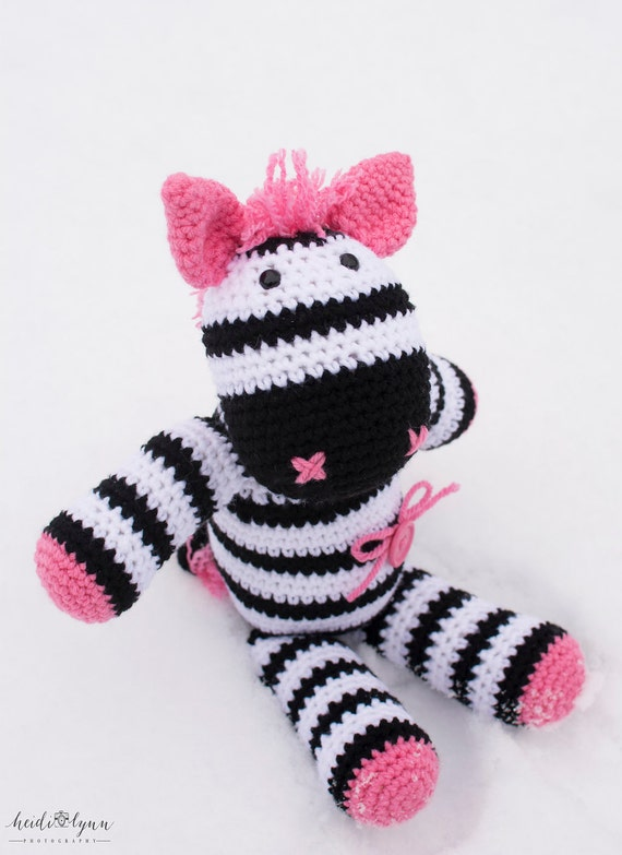 Free Crochet Zebra Patterns : ... crochet pattern, zebra animal, zebra toy, crochet pattern, amigurumi