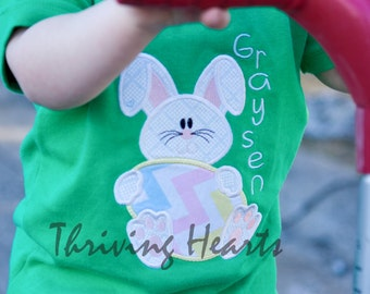 Easter Bunny with Easter Egg Shirt